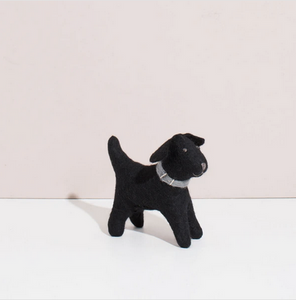 Hand Felted Black Lab