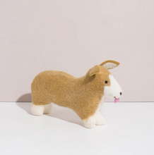Load image into Gallery viewer, Hand Felted Corgi Pup