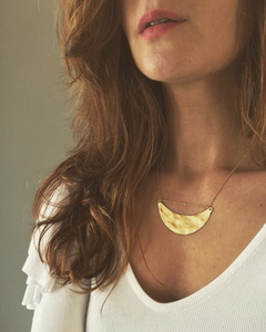 Smiling Moon Necklace