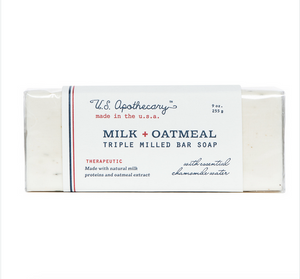 Milk & Oatmeal Bar Soap