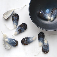 Load image into Gallery viewer, Mussel Ornament by Thirdlee & Co.
