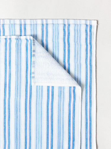 Shirt Stripe Hand Towel, Blues