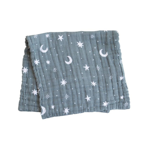 Night Sky Burp Cloth