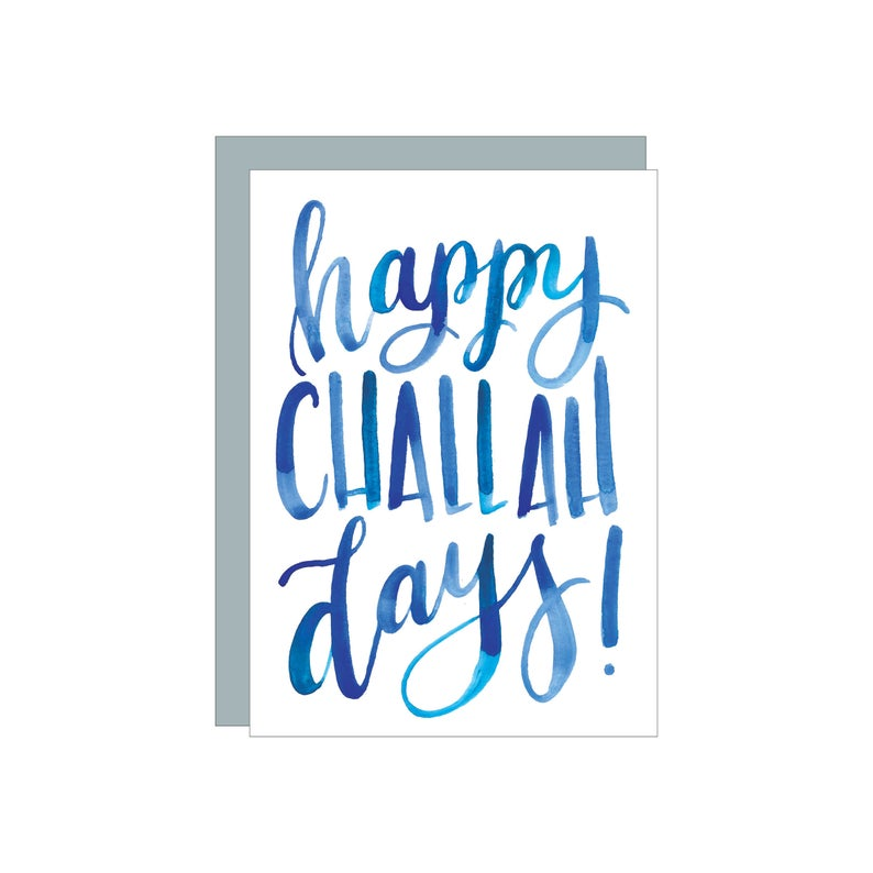 Happy Challah Days Card