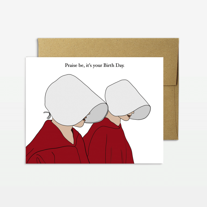 Handmaids Birthday Card