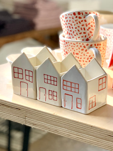 Mini Ceramic Houses