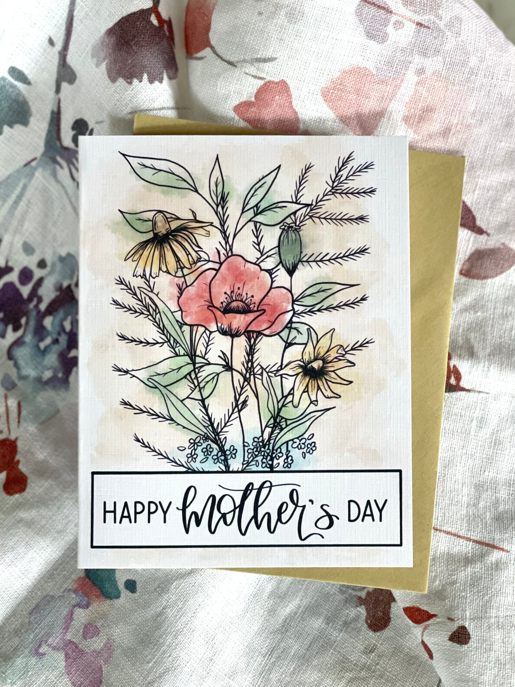Happy Mother's Day Bouquet Card