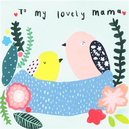 To My Lovely Mama Card