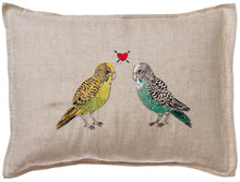 Load image into Gallery viewer, Parakeet Love Pillow