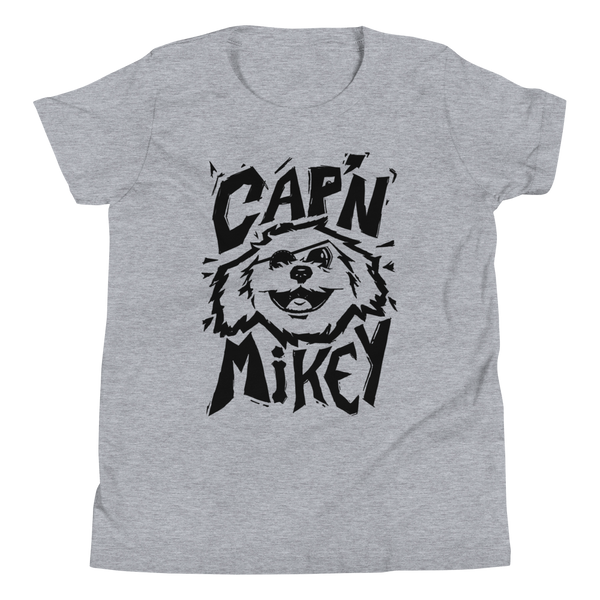 Cap'n Mikey : The Cap'n - Youth Short Sleeve T-Shirt