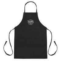 Home Cooks Club - Signature Embroidered Apron (Black)