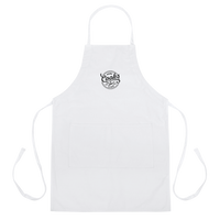 Home Cooks Club - Signature Embroidered Apron (White)