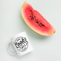 Home Cooks Club - Signature Logo Mug ( 11 oz. and 15 oz. sizes available)