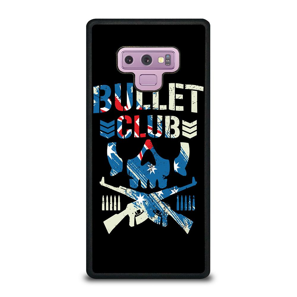 coque custodia cover fundas hoesjes j3 J5 J6 s20 s10 s9 s8 s7 s6 s5 plus edge D14781 BULLET CLUB LOGO #1 Samsung Galaxy Note 9 Case