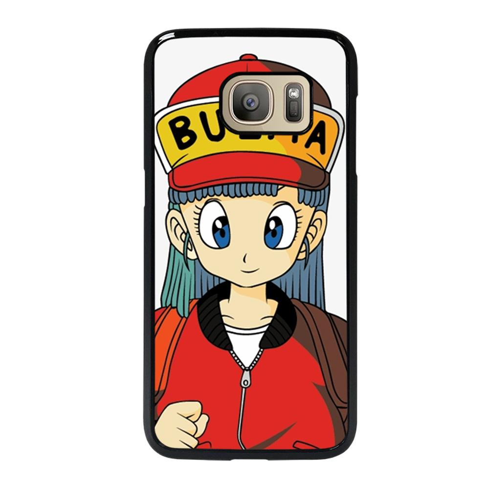 coque custodia cover fundas hoesjes j3 J5 J6 s20 s10 s9 s8 s7 s6 s5 plus edge D14827 BULMA DRAGON BALL Samsung Galaxy S7 Case