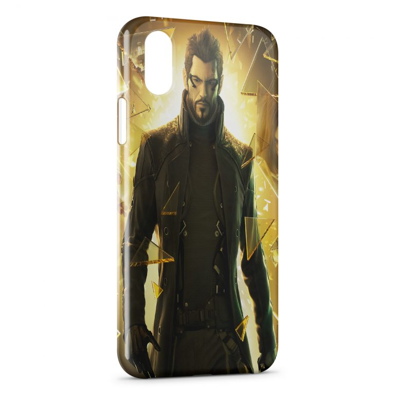 Coque iPhone X & XS Deus Ex Human Revolution Game