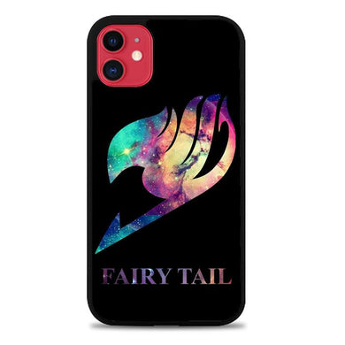 Fairy Tail Logo Galaxy Space Z0172 iPhone 11 coque