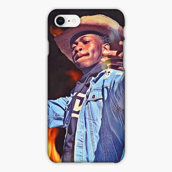 Coque iphone 6 7 8 plus Lil Nas X Rapper Fire Power