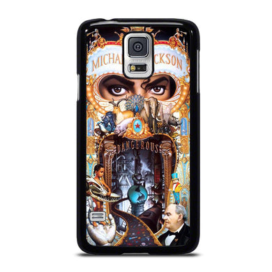 coque custodia cover fundas hoesjes j3 J5 J6 s20 s10 s9 s8 s7 s6 s5 plus edge D34414 MICHAEL JACKSON DANGEROUS Samsung Galaxy S5 Case
