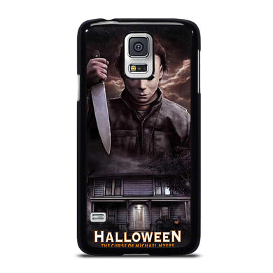 coque custodia cover fundas hoesjes j3 J5 J6 s20 s10 s9 s8 s7 s6 s5 plus edge D34699 MICHAEL MYERS HALLOWEEN Samsung Galaxy S5 Case