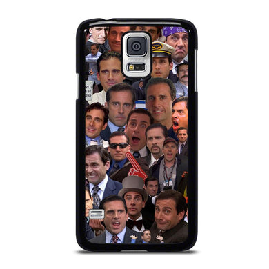 coque custodia cover fundas hoesjes j3 J5 J6 s20 s10 s9 s8 s7 s6 s5 plus edge D34718 MICHAEL SCOTT COLLAGE Samsung Galaxy S5 Case