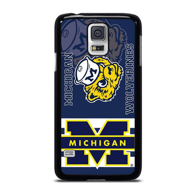 coque custodia cover fundas hoesjes j3 J5 J6 s20 s10 s9 s8 s7 s6 s5 plus edge D34756 MICHIGAN WOLVERINES #6 Samsung Galaxy S5 Case