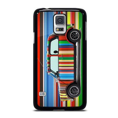 coque custodia cover fundas hoesjes j3 J5 J6 s20 s10 s9 s8 s7 s6 s5 plus edge D35169 MINI COOPER STRIPE PAUL SMITH Samsung Galaxy S5 Case
