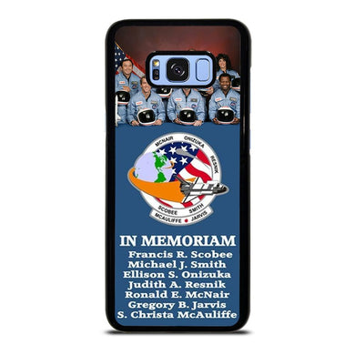 coque custodia cover fundas hoesjes j3 J5 J6 s20 s10 s9 s8 s7 s6 s5 plus edge D36172 NASA STS-51-L SPACE SHUTTLE CHALLENGER Samsung Galaxy S8 Plus Case