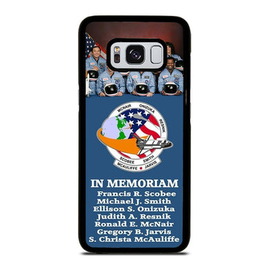 coque custodia cover fundas hoesjes j3 J5 J6 s20 s10 s9 s8 s7 s6 s5 plus edge D36171 NASA STS-51-L SPACE SHUTTLE CHALLENGER Samsung Galaxy S8 Case