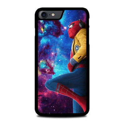 Spiderman Galaxy Z4543 iPhone 7 , iPhone 8 coque