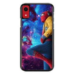 Spiderman Galaxy Z4543 iPhone XR coque