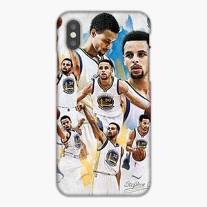 Coque iphone 6 7 8 plus Stephen Curry Collage