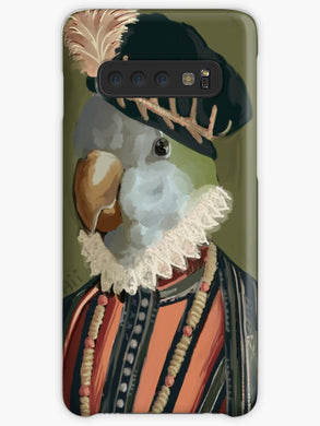 The Parrot King Coque Samsung S10