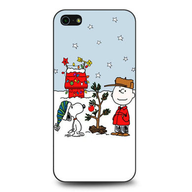 Charlie Brown Christmast coque iPhone 5/5s/SE