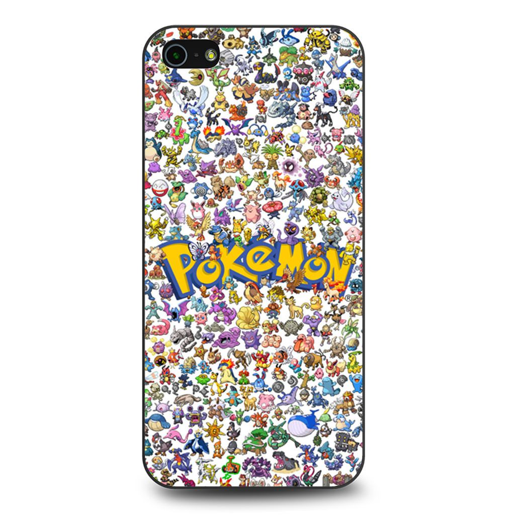All Pokemon Considered coque iPhone 5/5s/SE