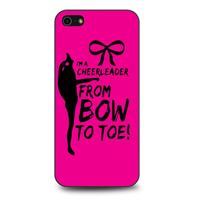 Cheers Cheerleader Bow To Toe coque iPhone 5/5s/SE