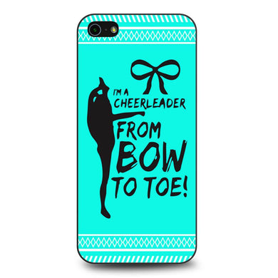 Cheerleader Bow To Toe Aztec Pattern coque iPhone 5/5s/SE