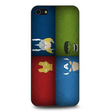 Character Avengers coque iPhone 5/5s/SE