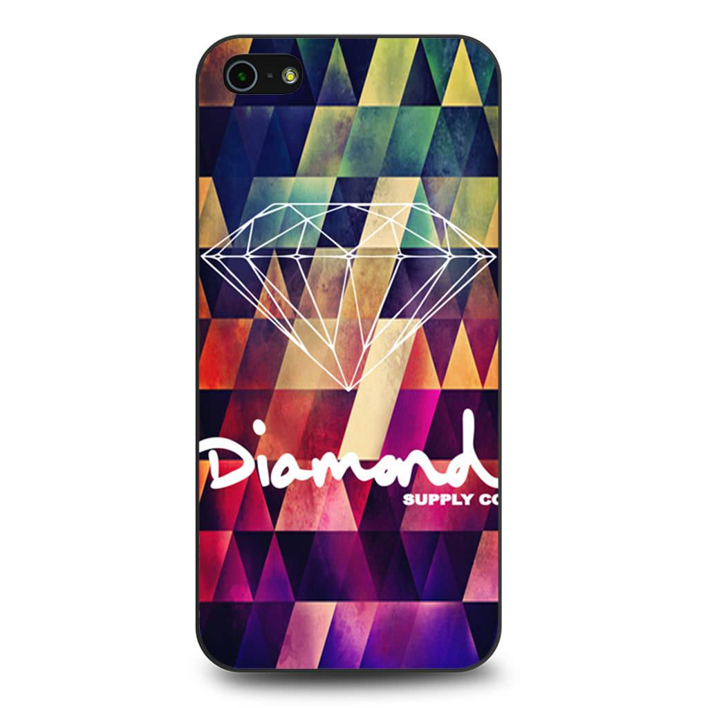 Abstract Diamond Supply Co Geometric coque iPhone 5/5s/SE