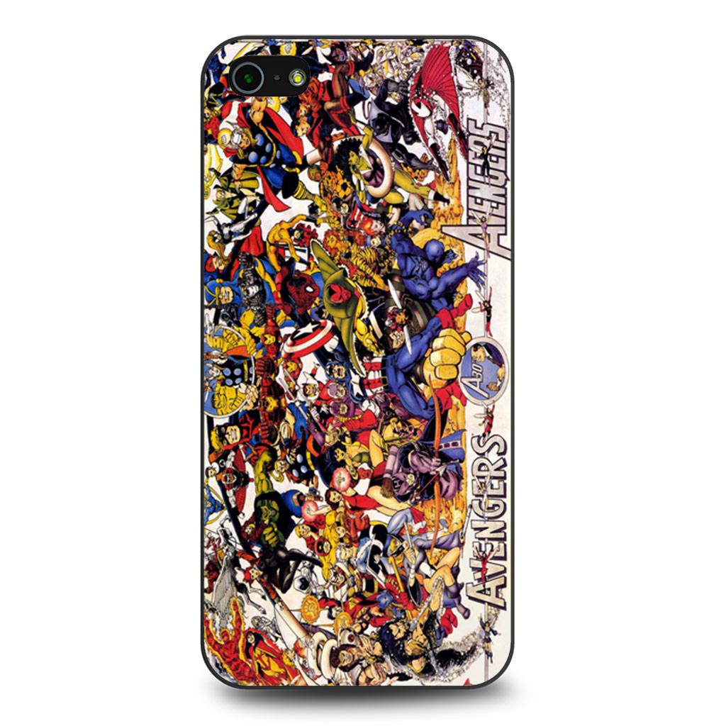 All Characters Avengers coque iPhone 5/5s/SE