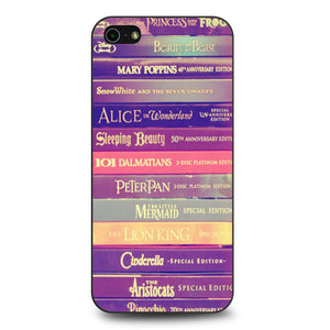 All of Books Disney and Friends coque iPhone 5/5s/SE