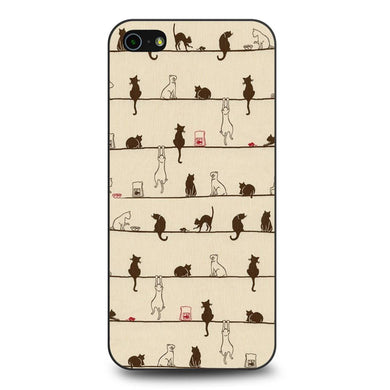 Cats coque iPhone 5/5s/SE