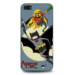 Adventure Time Batman & Robin coque iPhone 5/5s/SE