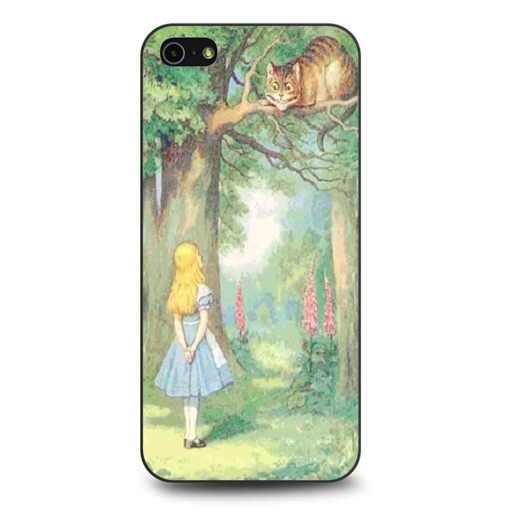 Alice In Wonderland coque iPhone 5/5s/SE