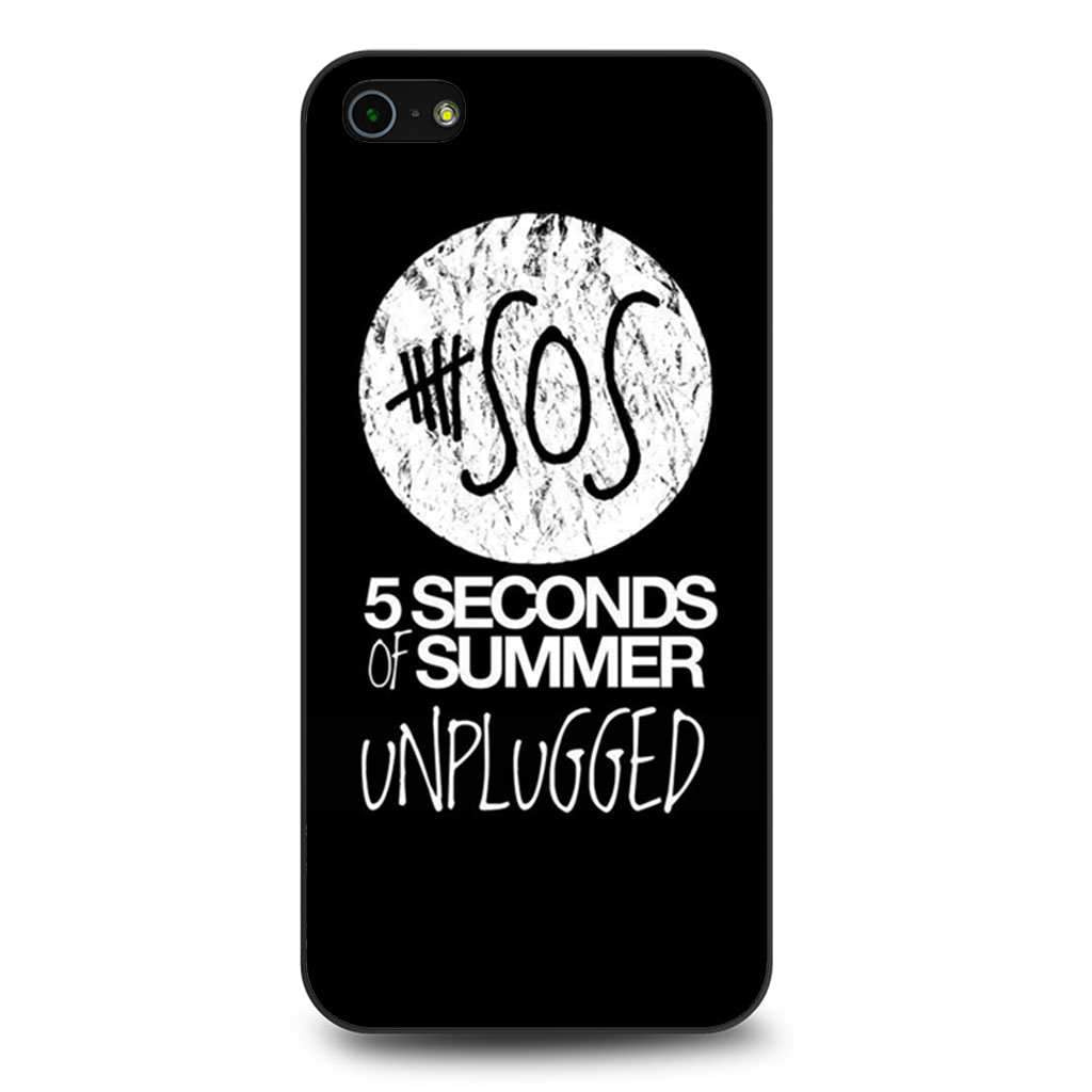 5 Seconds of Summer Logo coque iPhone 5/5s/SE