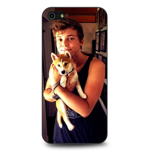 5SOS 5 Seconds of Summer Ashton Irwin Dog coque iPhone 5/5s/SE