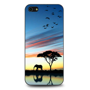 Africa Silhouette coque iPhone 5/5s/SE