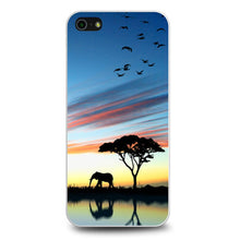 Charger l'image dans la galerie, Africa Silhouette coque iPhone 5/5s/SE