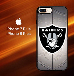 Oakland Raiders Z3261 coque iPhone 7 Plus , iPhone 8 Plus