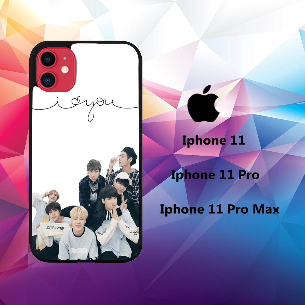 coque iphone 11 pro max BTS Wallpaper case